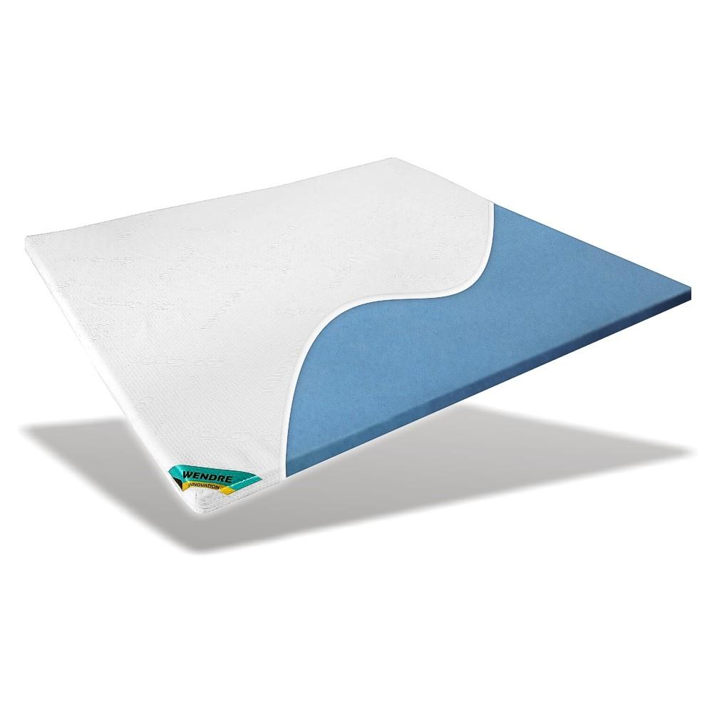 comfort gel topper top blue f r ihr boxspringbett 140x200cm ebay. Black Bedroom Furniture Sets. Home Design Ideas