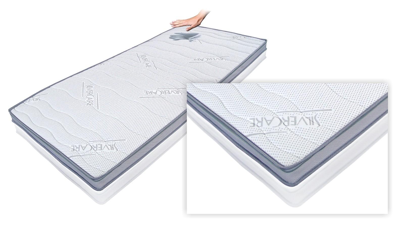 silvercare memory visco schaum topper ideal f r doppelbetten boxspringbetten ebay. Black Bedroom Furniture Sets. Home Design Ideas