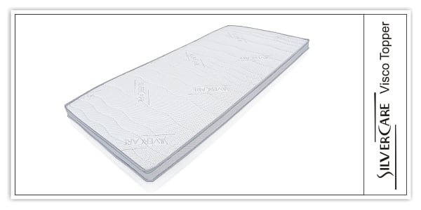 silvercare visco matratzenauflage 180x200x8cm viscokern. Black Bedroom Furniture Sets. Home Design Ideas