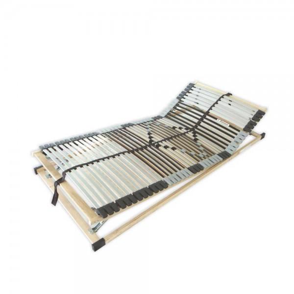 Extra stabiler 42 Leisten Lattenrost mit Kopf- und Fußverstellung, 80 cm x 200 cm