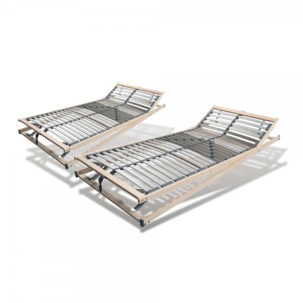 Set 2 X Lattenrost 100x200cm, 28 Leisten, verstellbar