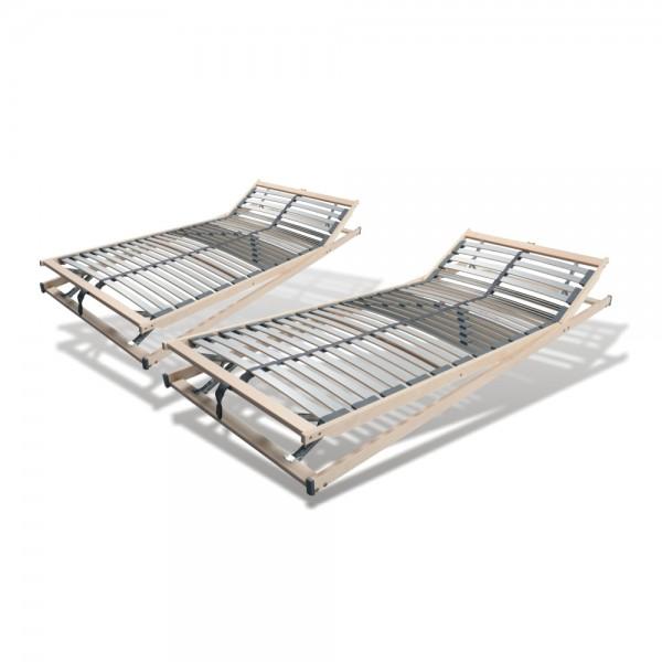 Set 2 X Lattenrost 80x200cm, 28 Leisten, verstellbar