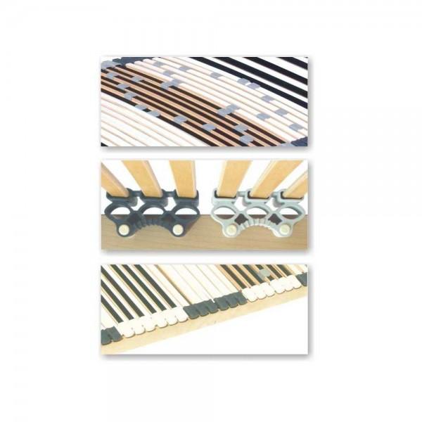 Lattenrost 44 Leisten, 80x200cm, nicht verstellbar, bis 200kg