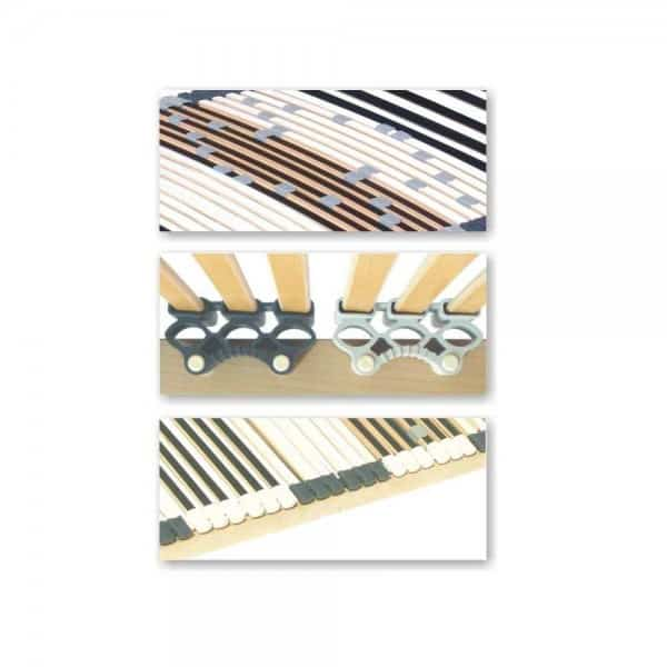 Lattenrost 44 Leisten, 120x200cm, nicht verstellbar, bis 200kg