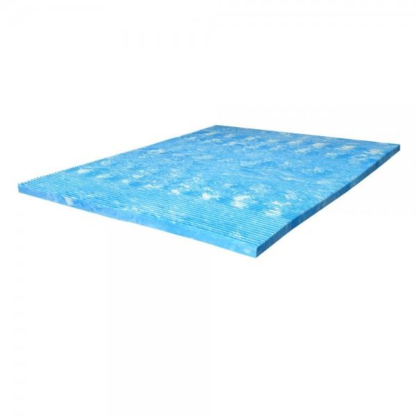 Gelschaumtopper Terramed Gel Komfort, 80x200cm, Kern