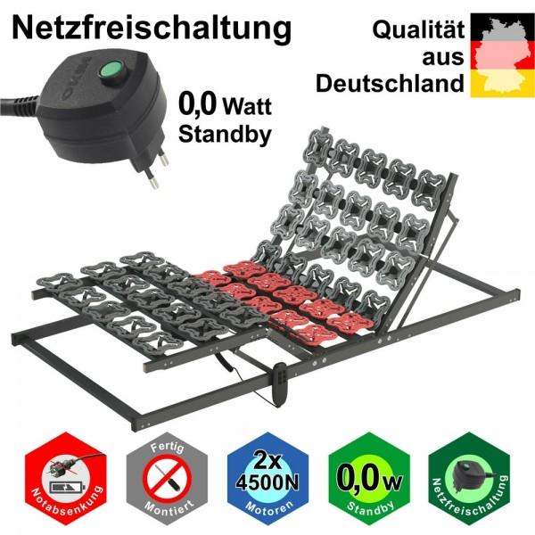elektrischer Lattenrost 120x200cm mit Teller Modulen, Produkt