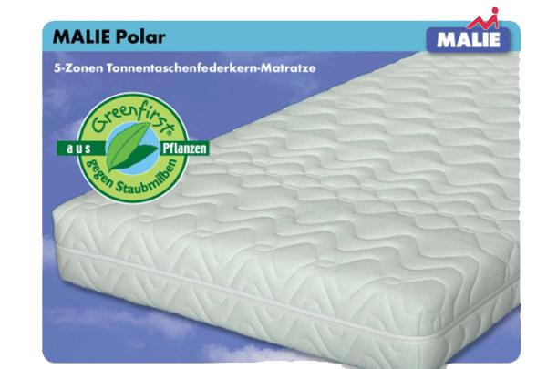 Malie Polar Taschenfederkernmatratze 90x190cm, H3