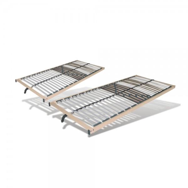Set 2 X Lattenrost 90x200cm, 28 Leisten, nicht verstellbar