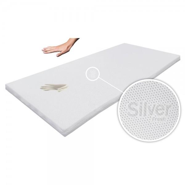 Silver Fresh Topper 160x200cm, Bezug