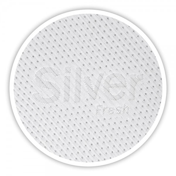 Silver Fresh Topper 160x200cm, Silvercare Bezug