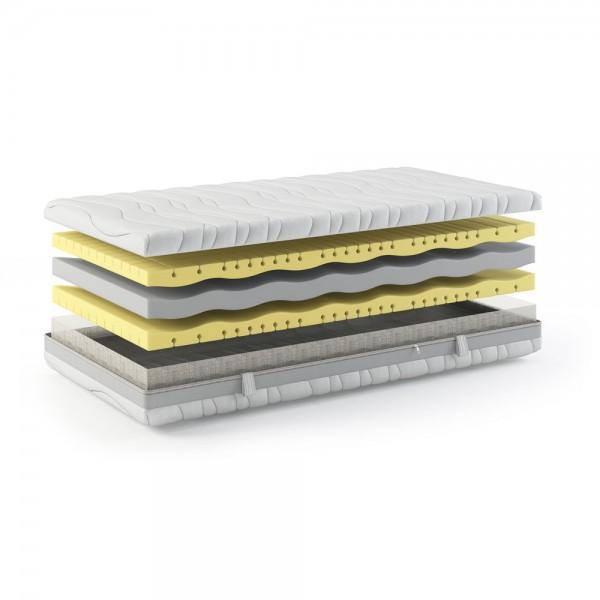 Vital Premium Kaltschaummatratze 200x200cm, 24cm hoch,  H3