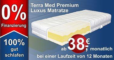 Premium Kaltschaummatratze mit 9 Zonen