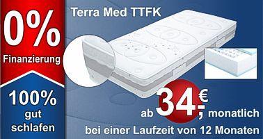 TERRAMED TTFK Premium Taschenfederkernmatratze