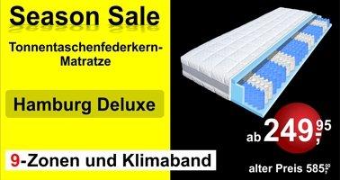 Taschenfederkernmatratze München mit 1000 Federn
