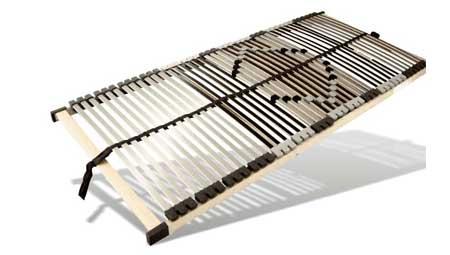 elektrischer Lattenrost  von Benninger Bettsysteme mit 44 Leisten