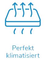 perfekt klimatisiert