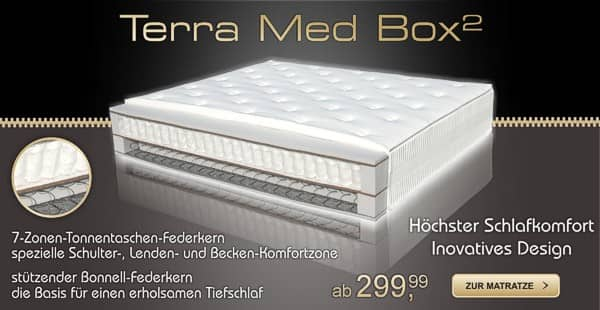 Boxspringmatratze Terramed Box