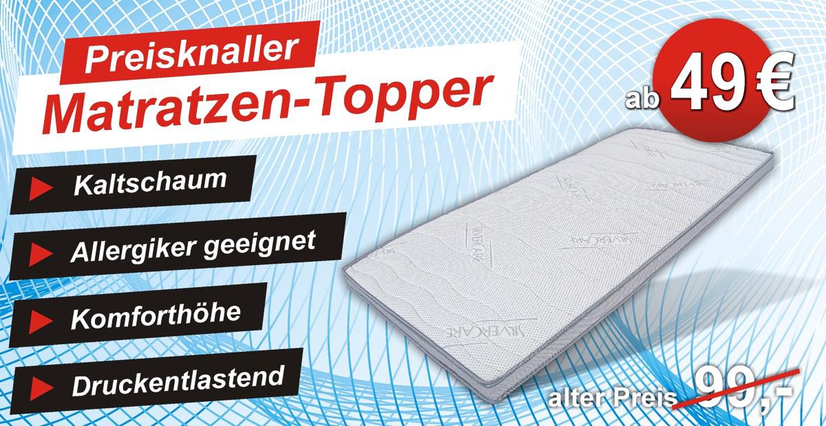 mehr Komfort mit dem Silvercare Topper